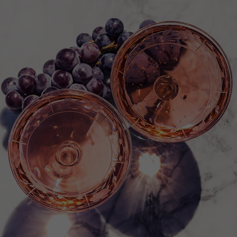 cudze chwalicie wino rozowe musujace